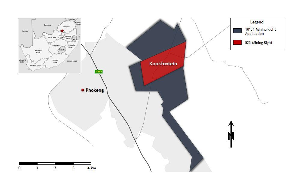 kookfontein geology map